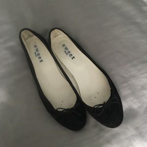 Sweet Holic Faux Suede Ballet Flats